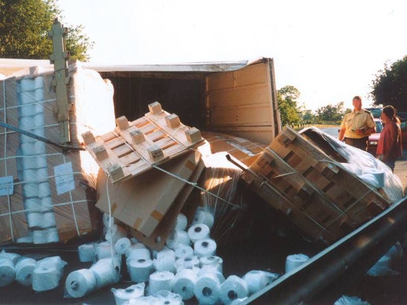Detailfoto Ladungsunfall
