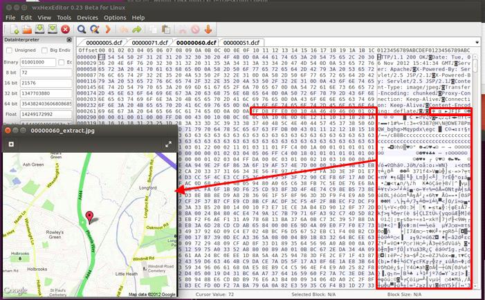 Analyse der gespeicherten Daten
