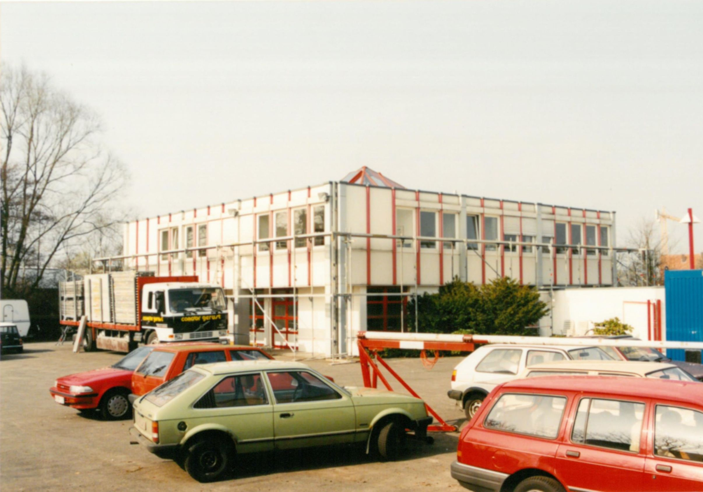 Ursprüngliche Gebäudeform vor dem Umbau 1997